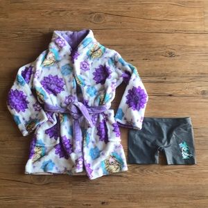 Girls Disney's Frozen bundle Robe and bloomers